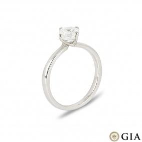 Asscher Cut Diamond Ring in Platinum 1.00ct G/VS2